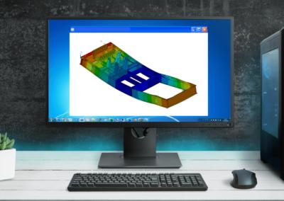 Tool di costruzione del digital twin per analisi strutturale di basamenti metallici