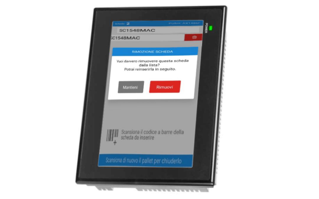 Postazione integrata per la gestione e tracciabilità di schede elettroniche durante il processo di riparazione
